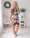 Can't Help Falling In Love Dress - Navy