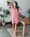 Catching Feelings Dress - Mauve