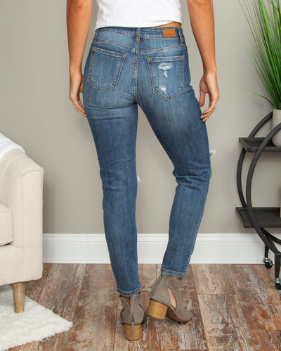 Cheyenne Boyfriend Jeans - Medium Wash