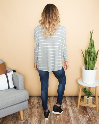 Chill By Choice Top - Grey