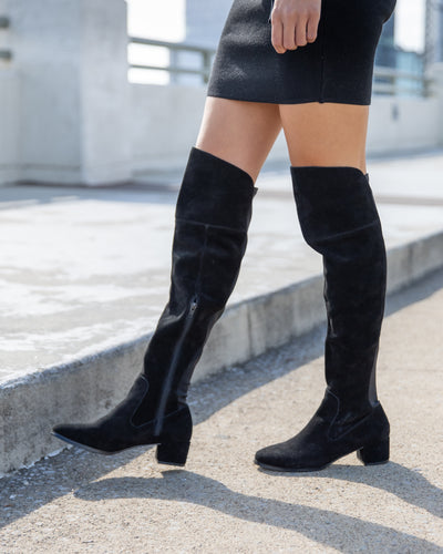 Chinese Laundry Adelyn Over The Knee Boots - Black