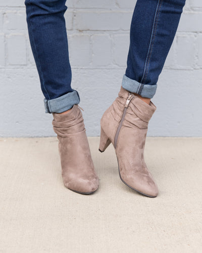 Chinese Laundry Ellington Bootie - Taupe