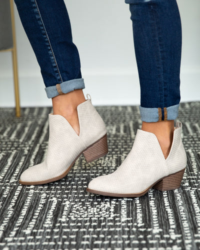 Chinese Laundry Tristan Bootie - Stone
