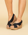 Chinese Laundry Avery Wedge - Black