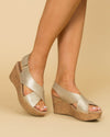 Chinese Laundry Avery Wedge - Gold