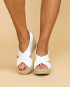 Chinese Laundry Avery Wedge - Off White