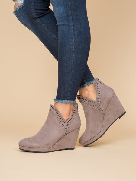 Chinese Laundry Bianca Bootie - Grey