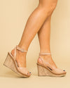 Chinese Laundry Laurel Wedge - Nude