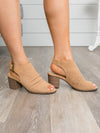Chinese Laundry Christina Open Toe Bootie - Tan