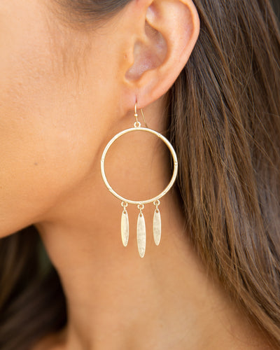 Clara Earrings - Gold