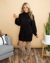 Class Act Sweater Dress - Black