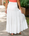Coastal Cruising Skirt - Off White