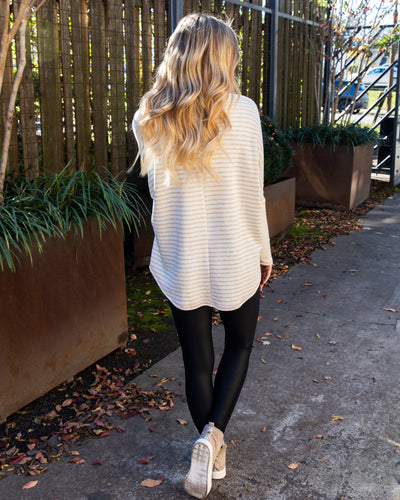 Coffee Kind Of Morning Top - Cream/Beige