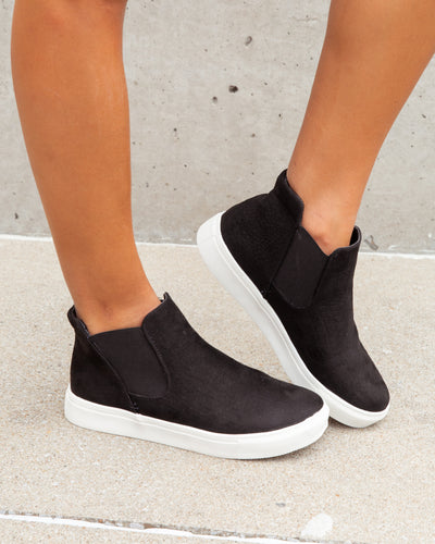 Colleen Slip On Sneakers - Black