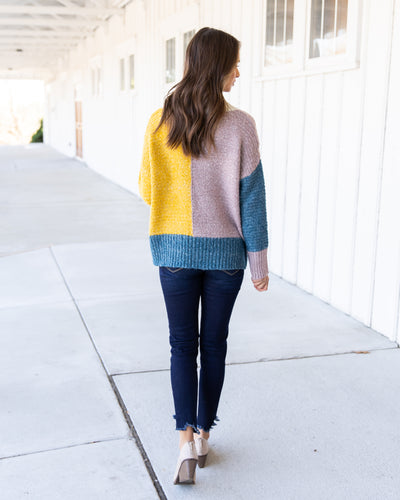 Color My World Sweater - Cream Multi