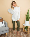 Comfort Is Key Sweater - Ivory