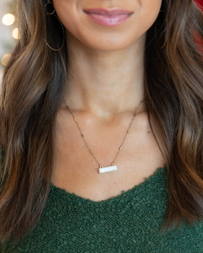Cora Necklace - Cream