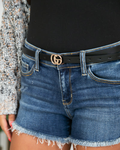 Corinne Belt - Black