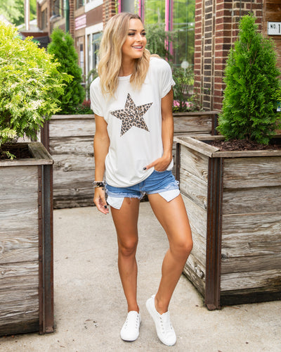 Counting Stars Tee - Off White