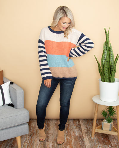 Cozy Nights Sweater - Multi