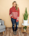 Cozy Up To Me Sweater - Sorbet