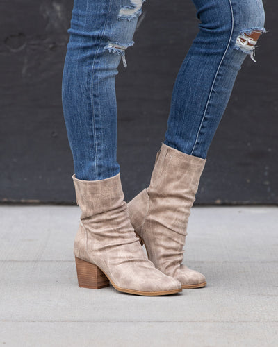 Dallas Booties - Cream