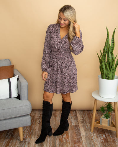 Dance All Day Dress - Dusty Lavender