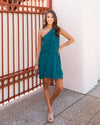Dancing The Night Away Dress - Dark Teal