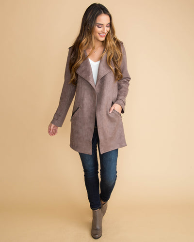 Day To Night Coat - Cocoa