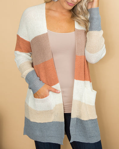 Days Go By Cardigan - Multi