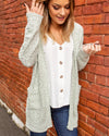 Delights My Heart Cardigan - Mint