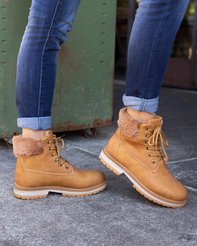 Dirty Laundry Avery Boots - Cognac