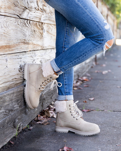 Dirty Laundry Avery Boots - Taupe