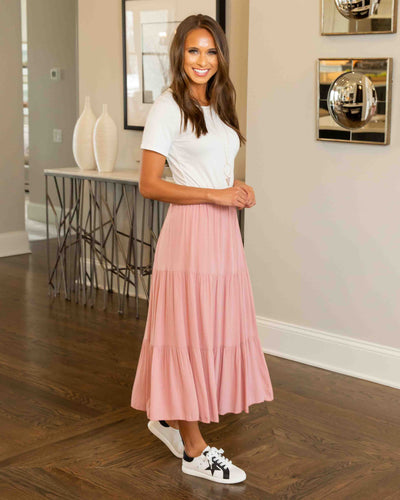 Dream Come True Skirt - Blush