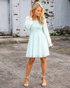 Dreaming Of Paris Dress - Mint