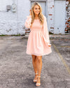 Dreaming Of Paris Dress - Peach
