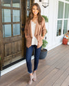 Dress The Part Jacket - Caramel