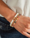 Drew Stackable Bracelet - Gold Multi