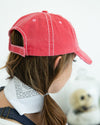 Farm Girl Hat - Hot Pink
