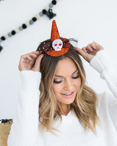 Halloween Hat Headband - Multi
