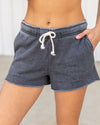Easy Breezy Shorts - Charcoal