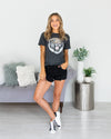 Easy Tiger Graphic Tee - Charcoal