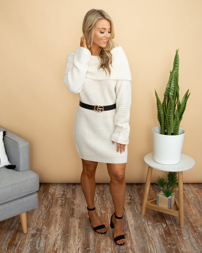 Easy Like Sunday Sweater - Cream