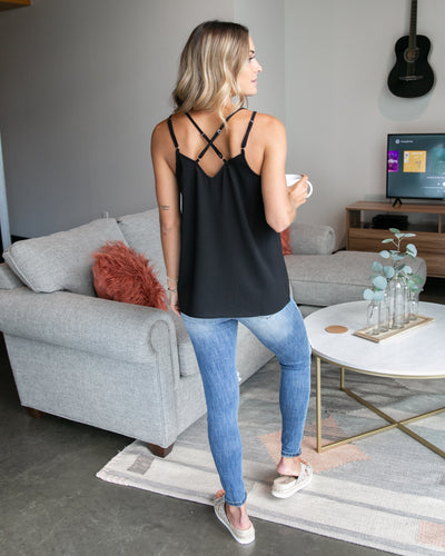 Simply Splendid Tank - Black