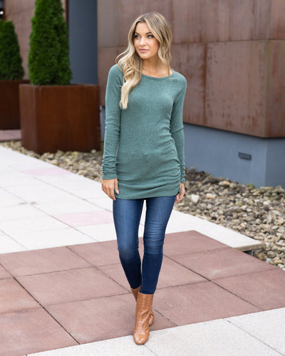 Elle Everyday Top - Sage