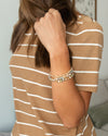 Ellen Stackable Bracelet - Gold Multi