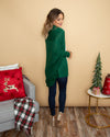 Embrace The Season Cardigan - Evergreen