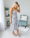 Ever So Charming Dress - Grey