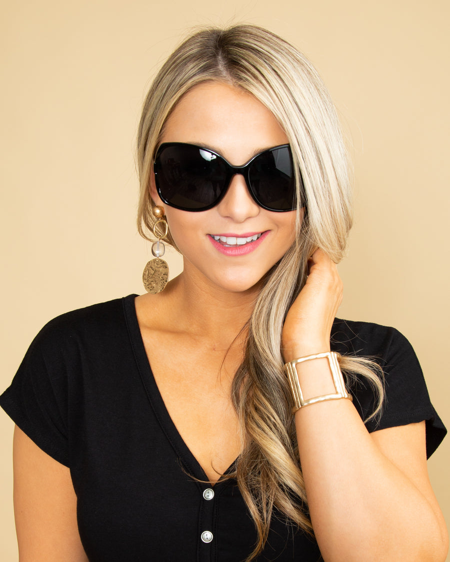 Evie Sunglasses - Black