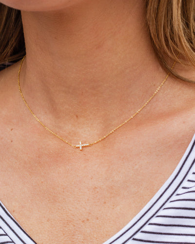 Faith Necklace - Gold